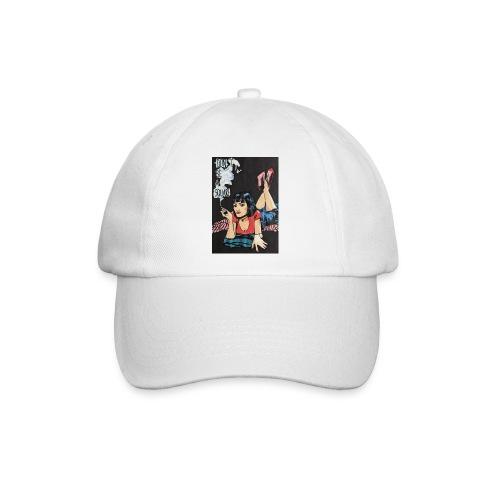 MIA WALLACE DRAWING - Cappello con visiera