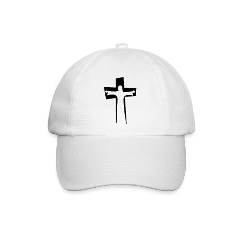 Abstrakt Jesus på korset - Basebollkeps