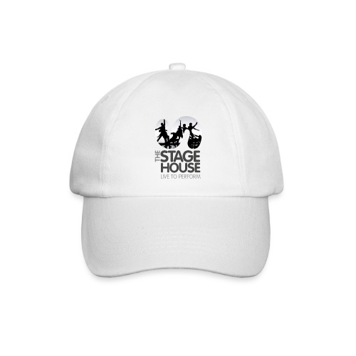 the stage house logo artwork performance - Baseball Cap