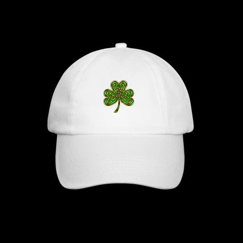 Celtic Knotwork Shamrock - Baseball Cap