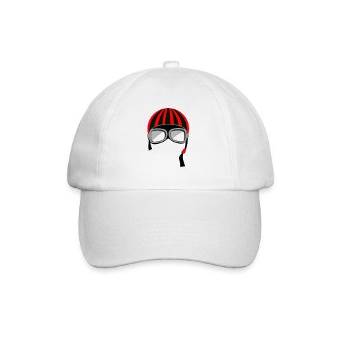 red_helmet-png - Cappello con visiera