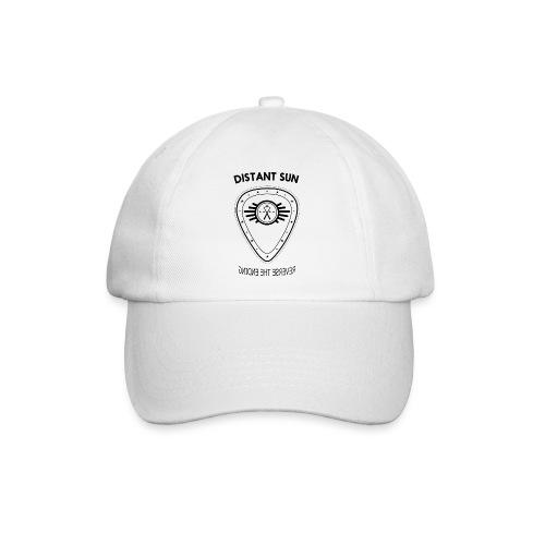 Distant Sun - Mens Slim Fit Black Logo - Baseball Cap