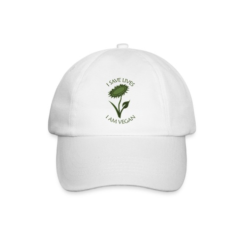 Turnbeutel vegan - Baseballkappe