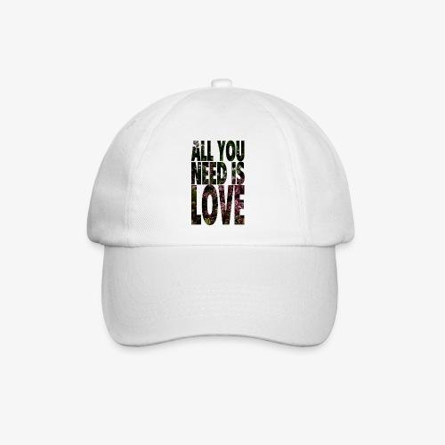 All You need is love - Czapka z daszkiem
