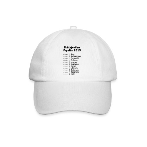Skutsjesilen Fryslan - Baseballcap