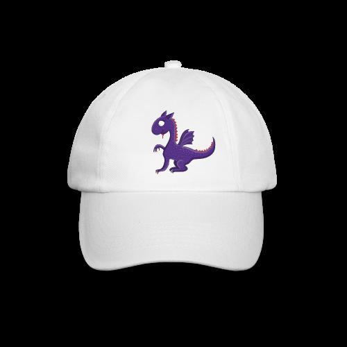 Violetter kleiner Drache mit Flügeln - Baseballkappe