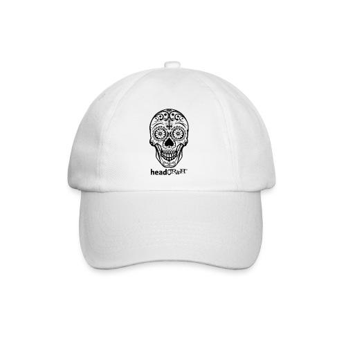 Skull & Logo black - Baseballkappe