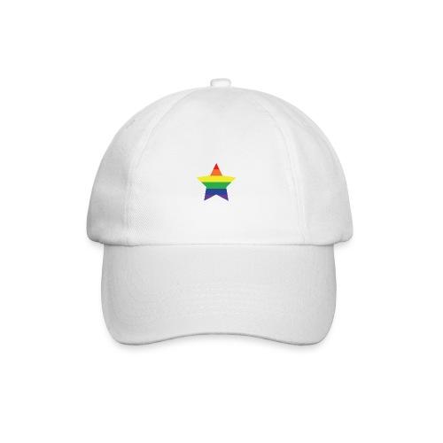 Rainbow star - Baseball Cap