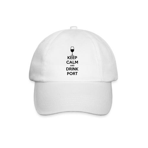 Keep Calm and Drink Port - Baseball Cap