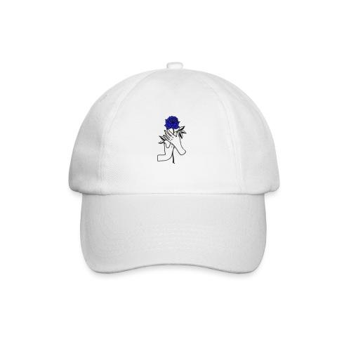 Fiore blu - Cappello con visiera