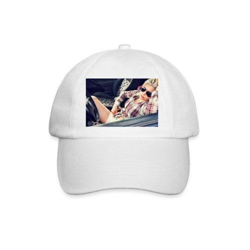 Cool woman in car - Baseball Cap