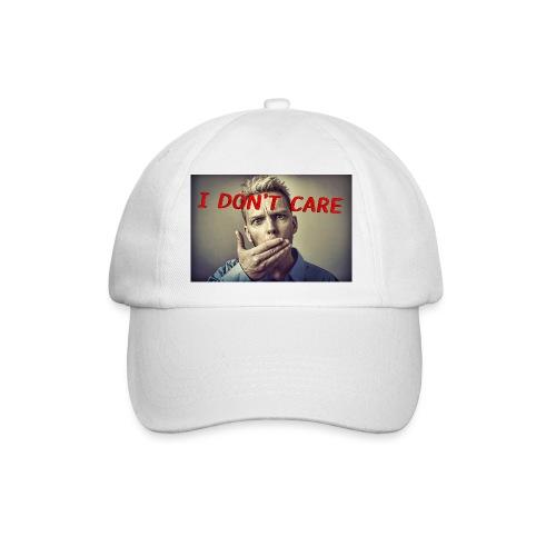 I don't care shirt - Baseball Cap