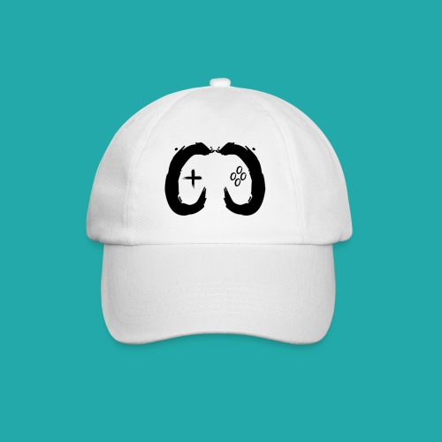Crowd Control Controller Logo Black Large - Baseball Cap