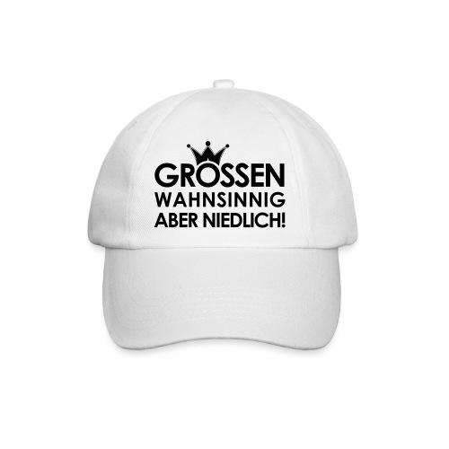 Weltkanzlerin® Frauen Premium Langarmshirt - Baseballkappe