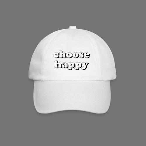 CHOOSE HAPPY Tee Shirts - Baseball Cap