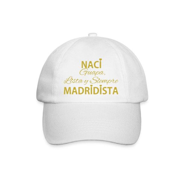 Guapa lista y siempre Madridista