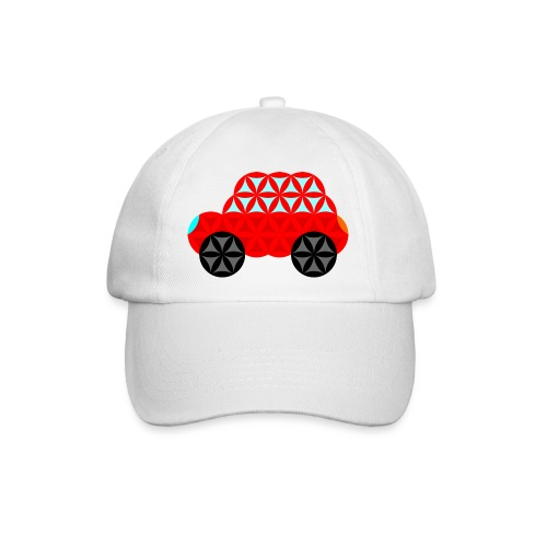 The Car Of Life - M01, Sacred Shapes, Red/R01. - Baseball Cap
