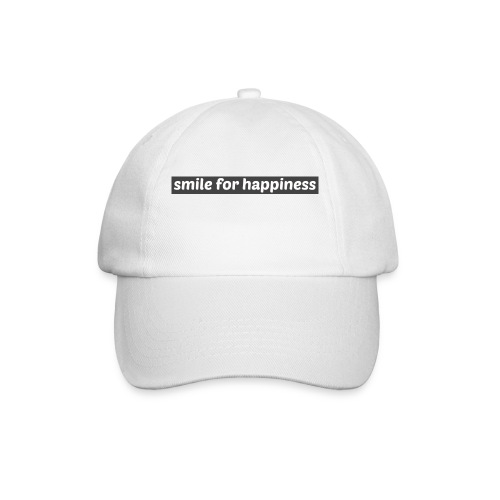 smile for happiness - Basebollkeps