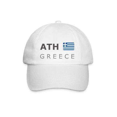 ATH GREECE dark-lettered 400 dpi - Baseball Cap