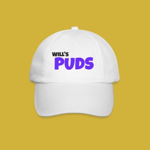 WillsPudsLogo - Baseball Cap