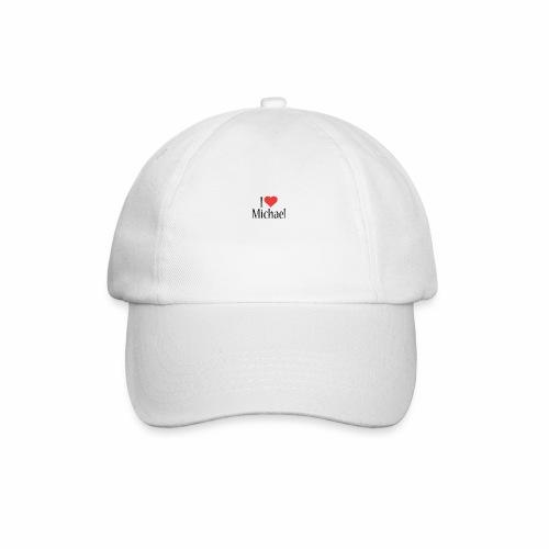 Michael designstyle i love Michael - Baseball Cap