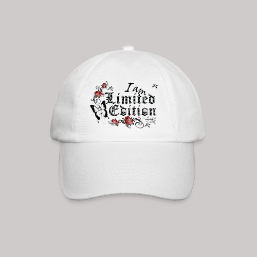 simply wild limited Edition on white - Baseballkappe