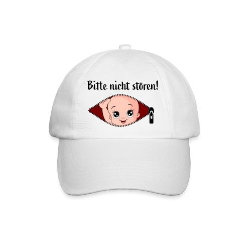 Umstandsmode T-Shirt mit Motiv Schwangerschaft - Baseballkappe