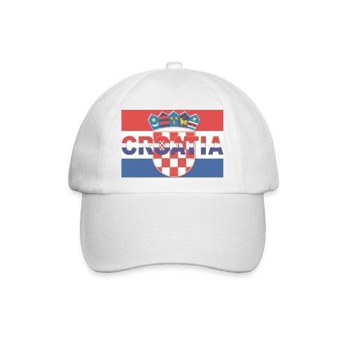 Croatia zastava SAMO http://WWW.CROATIAN-TEAM.de - Baseballkappe