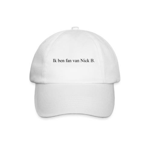 Ik ben fan van Nick B T-Shirt. - Baseballcap