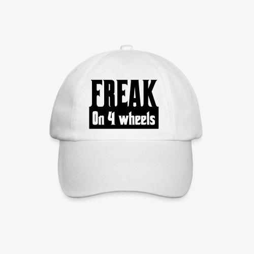 Gek op vier rolstoel wielen - Baseballcap