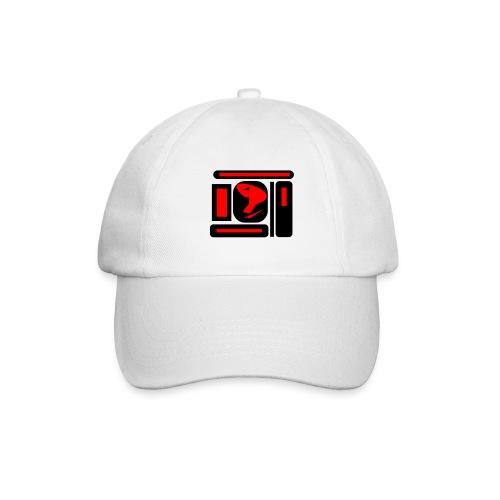 black and red hot P - Baseballkappe