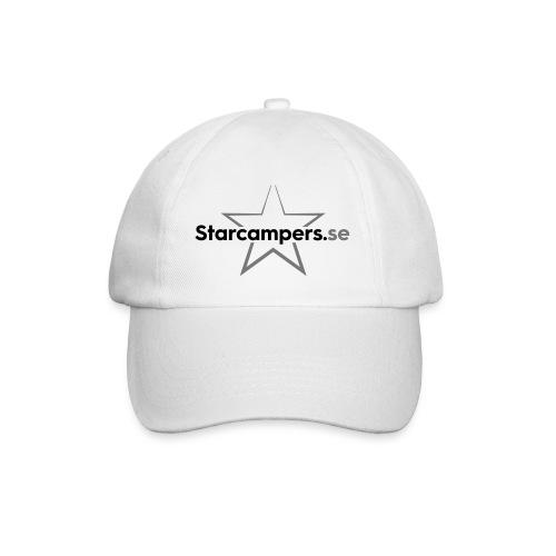 Starcampers centrerad logo - Basebollkeps