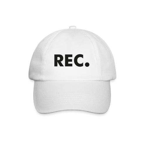 Rec zwart - Baseballcap
