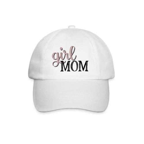 Schriftzug Girl Mom - Baseballkappe