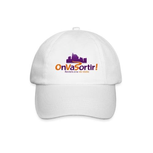 Logo OnVaSortir! - Casquette classique