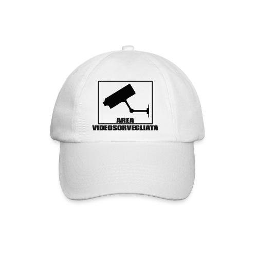 Area Videosorvegliata - Cappello con visiera