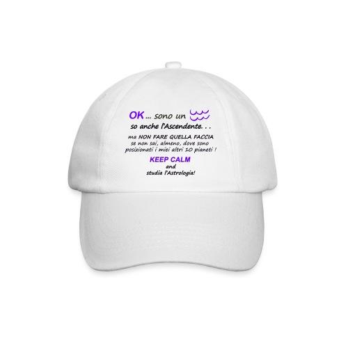 ACQUARIO - Cappello con visiera