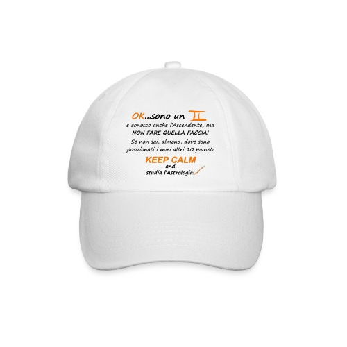 GEMELLI - Cappello con visiera