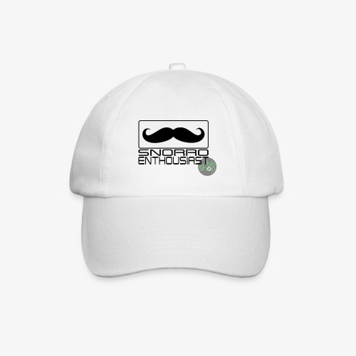 Snorro enthusiastic (black) - Baseball Cap