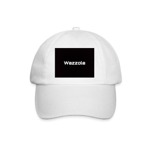 Wazzole plain blk back - Baseball Cap