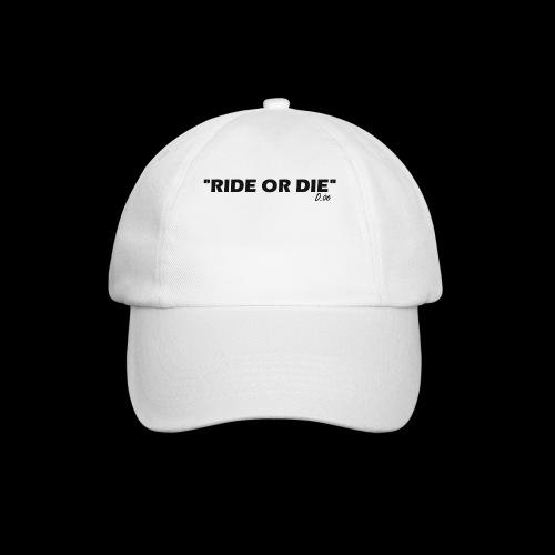 Ride or die (noir) - Casquette classique