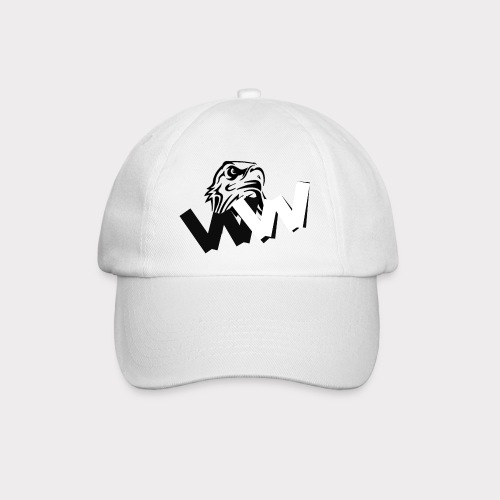 White and Black W with eagle - Baseball Cap