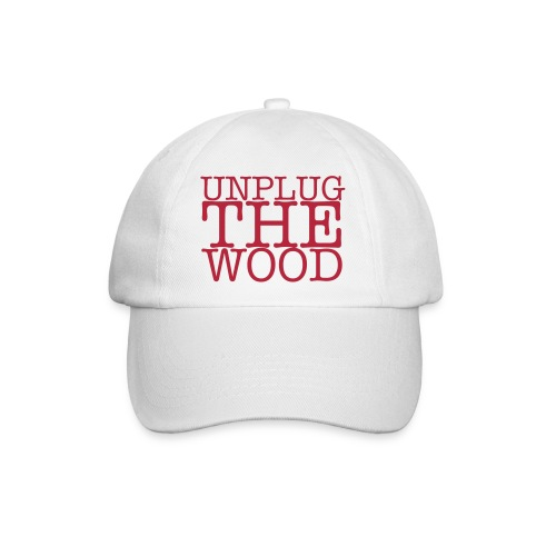 Unplug The Wood square - Baseball Cap