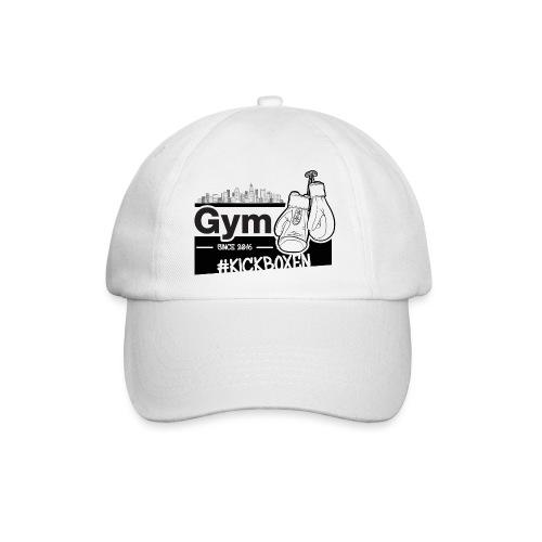 Gym in Druckfarbe schwarz - Baseballkappe