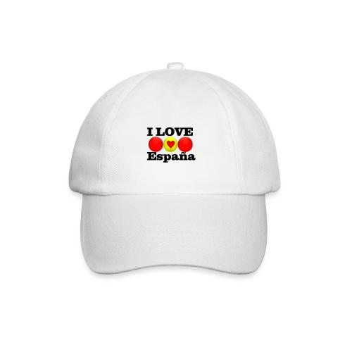 yo amo a España I love España - Gorra béisbol