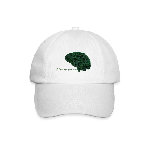 Piensa verde - Gorra béisbol