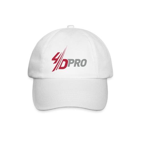 4d pro logo neu - Baseballkappe