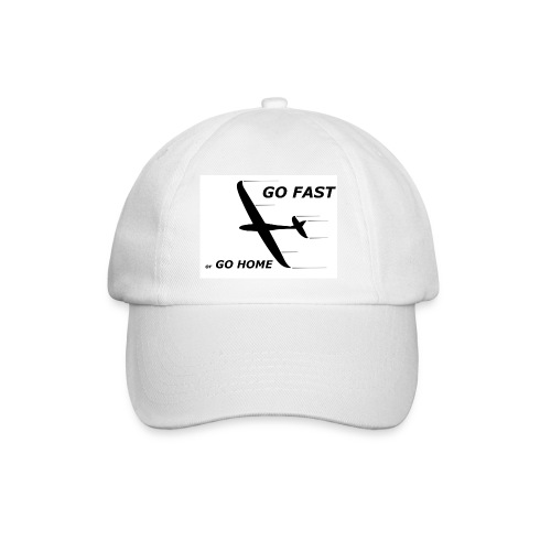 go fast Digitalmotiv - Baseballkappe