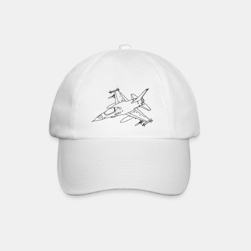 F-16 Viper / Fighting Falcon jet fighter / F16 - Baseball Cap
