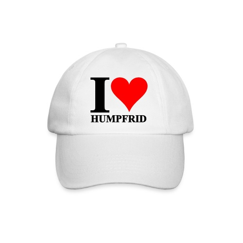 i love humpfrid 2 png - Basebollkeps